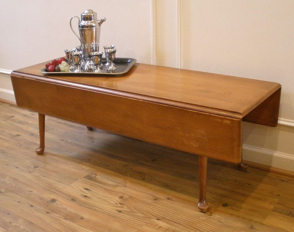 Image of: Narrow Coffee Table with Bottom Shelf