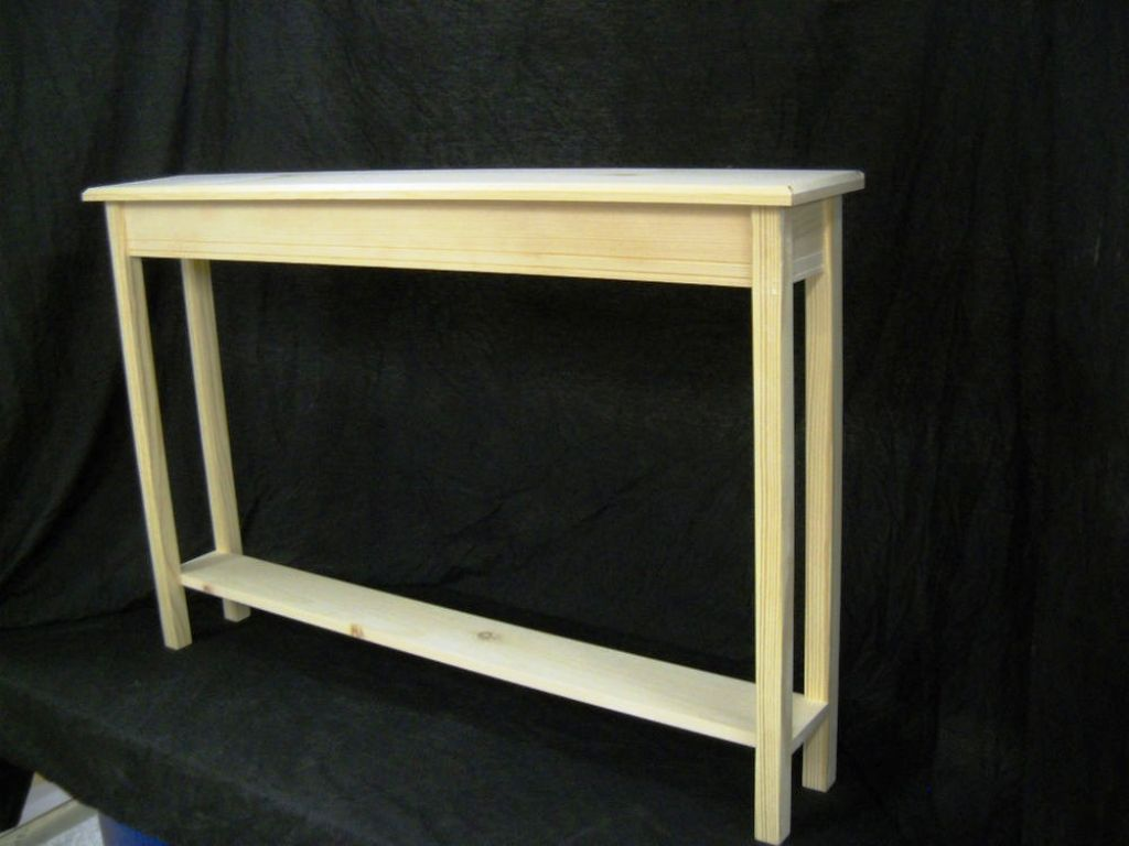Image of: Narrow Console Tables
