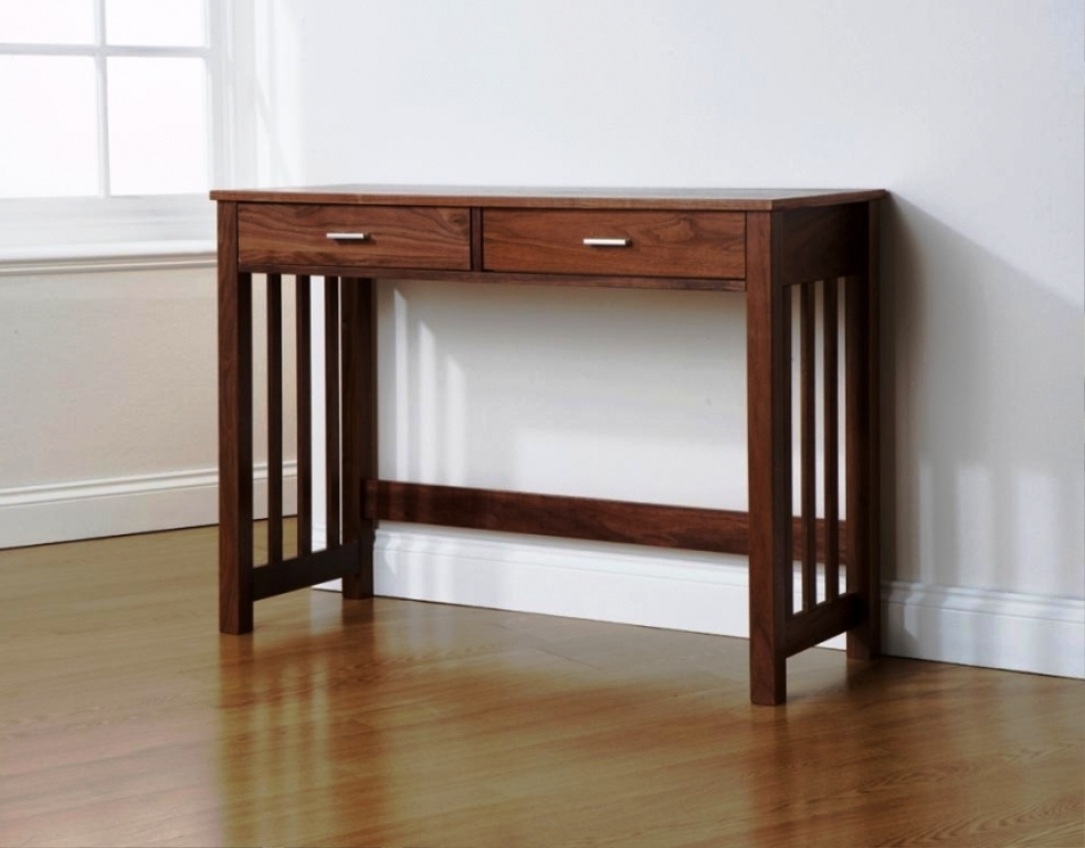 Image of: Narrow Console Table Ikea