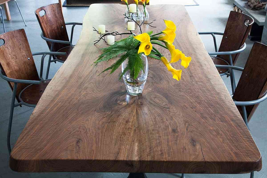 Picture of: natural solid wood tables