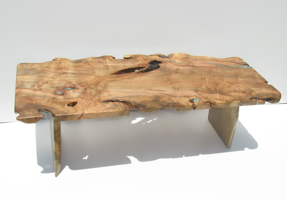 Image of: Natural Wood Coffee Table