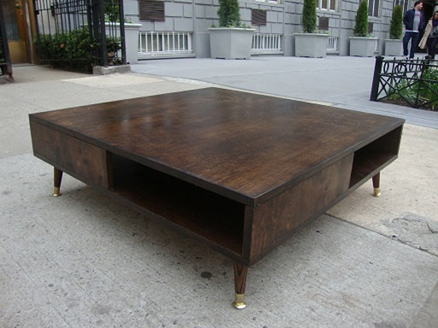 Image of: nice mid century modern coffee table