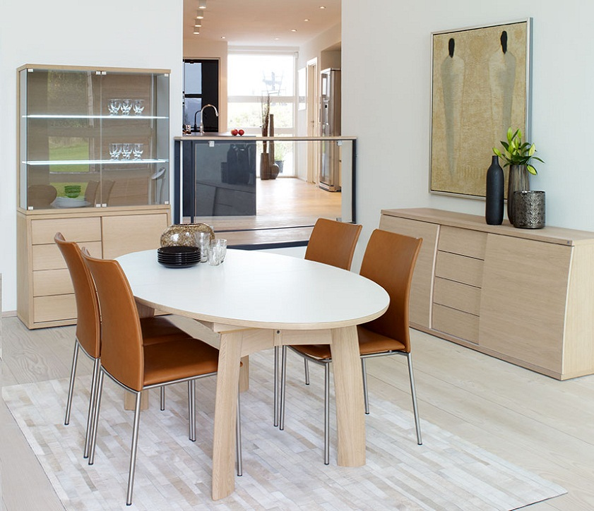 Image of: Nice Modern Dining Tables