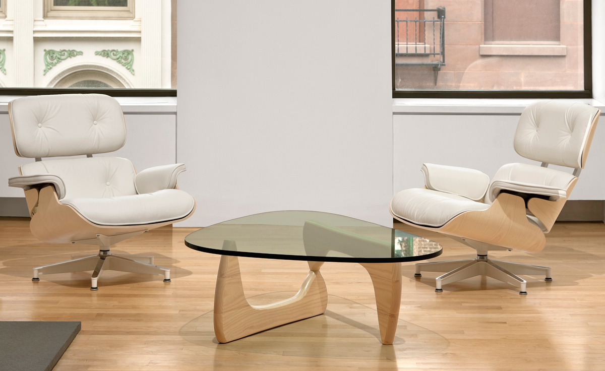 Image of: Noguchi Coffee Table Set