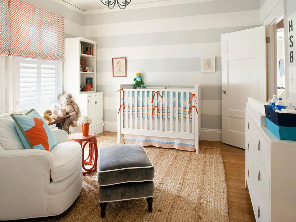 Image of: Nursery Recliner and Ottoman