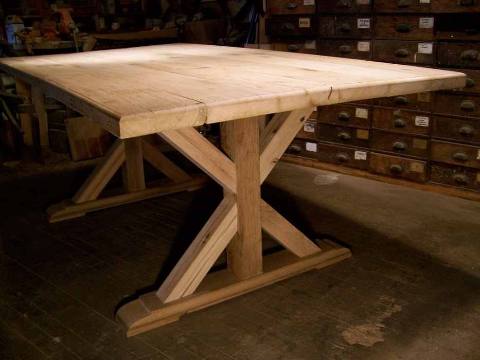 Picture of: Options of Reclaimed Wood Table