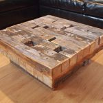 Outdoor Coffee Table Reclaimed Wood
