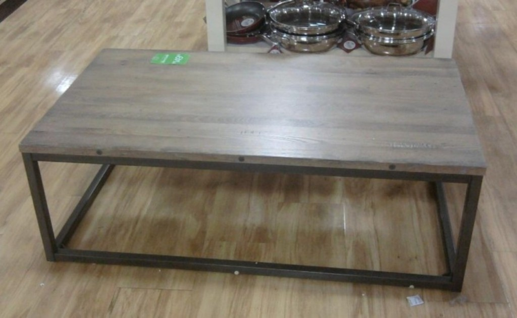 Image of: oval coffee table reclaimed wood
