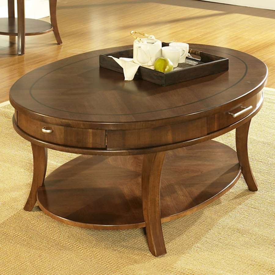 Image of: oval coffee tables small