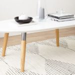 Oval Coffee Tables White