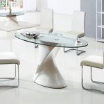 Oval Glass Dining Table And Chairs