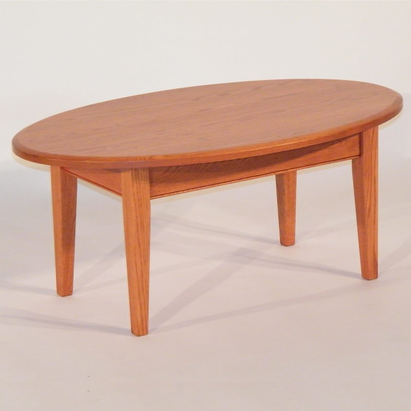 Image of: Oval Wood Coffee Table Ideas