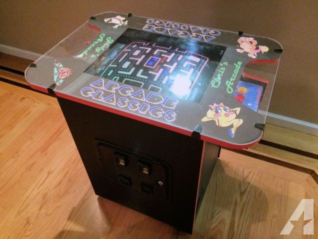 Picture of: Pacman Cocktail Table Repair