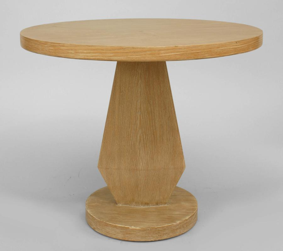 Image of: Pedestal End Table 1950s