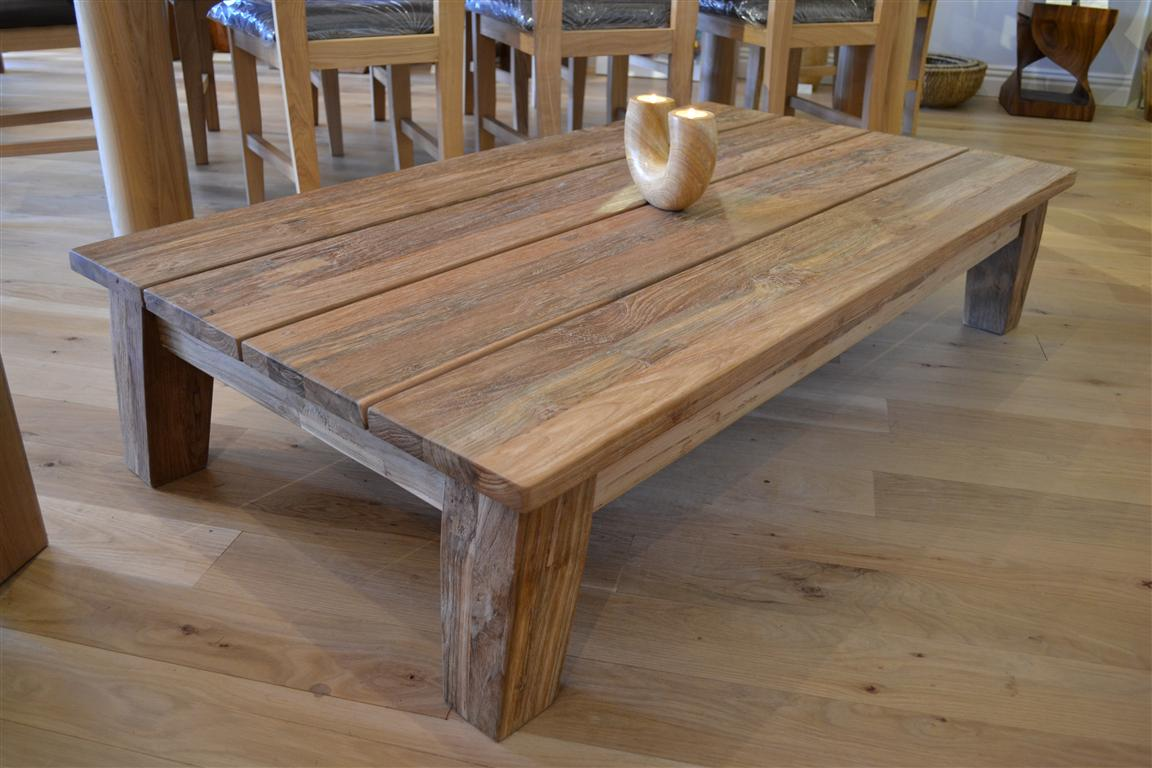 Pedestal End Table Natural