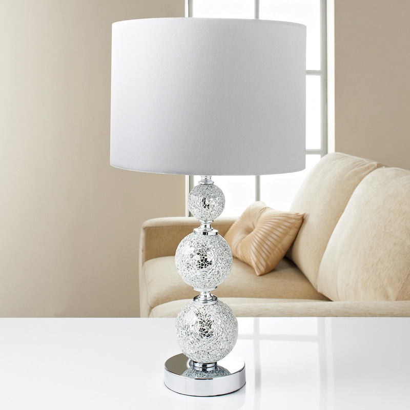 Image of: Perfect Glass Ball Table Lamp