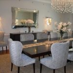Popular Mirrored Dining Room Table