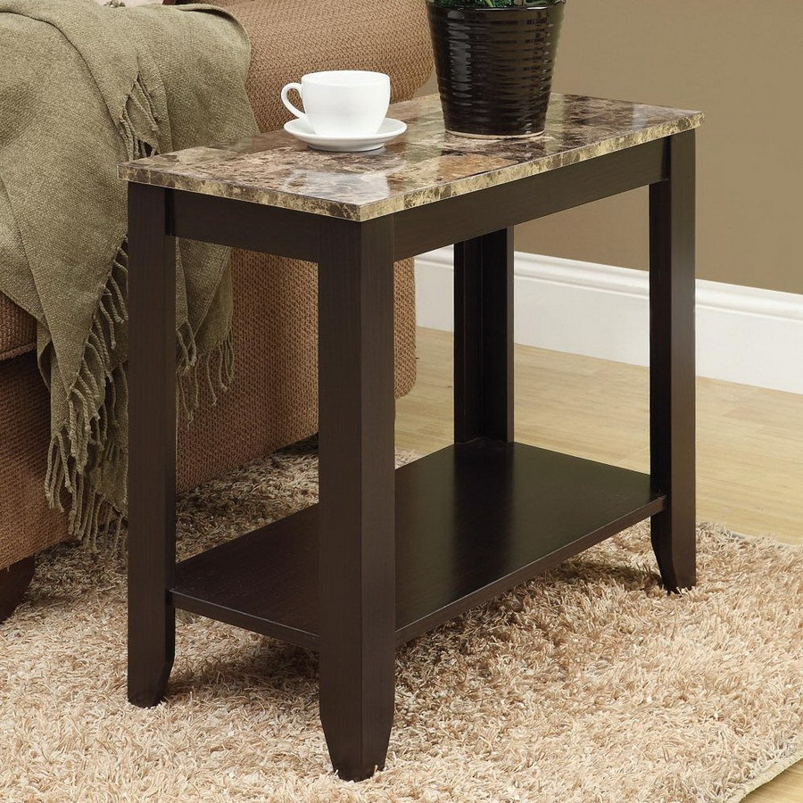 Image of: Popular Rectangular End Table