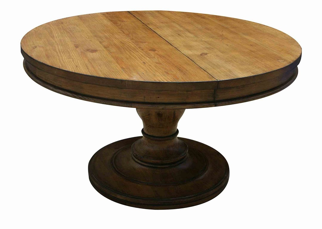 Popular Rustic Round Dining Table