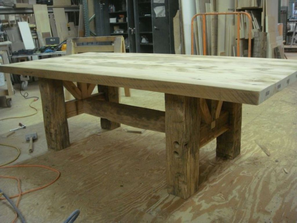 Picture of: pottery barn wood tables