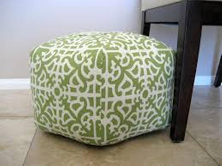 Image of: Poufs and Ottomans Foot Stool