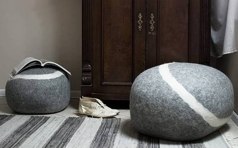Image of: Poufs and Ottomans Ideas