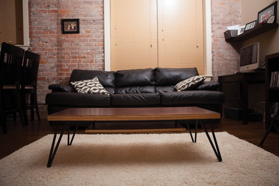 Image of: pretty mid century modern coffee table