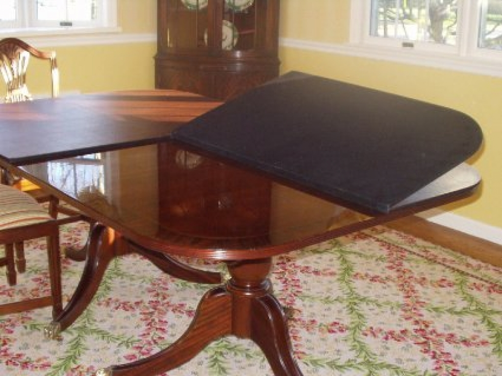 Image of: Protective Pads for Dining Room Table