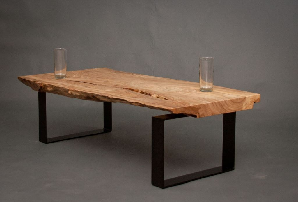 Picture of: raw wood coffee table legs