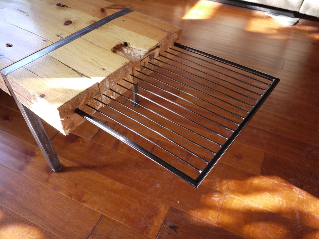 Image of: raw wood coffee table tops