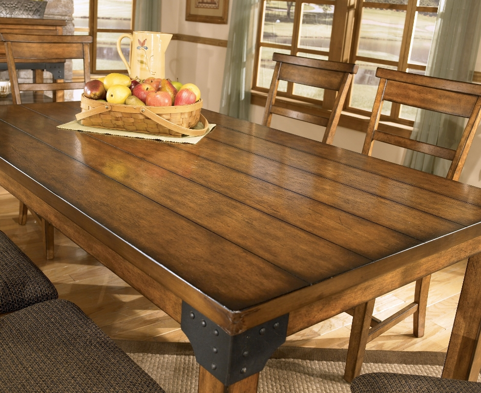 Picture of: reclaimed wood dining room table accessories