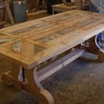 Reclaimed Wood Dining Room Table For Sale