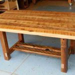 Reclaimed Wood Dining Room Table With Leaf
