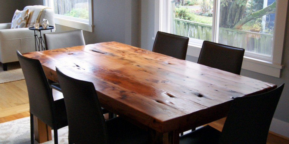 Picture of: reclaimed wood dining tables color