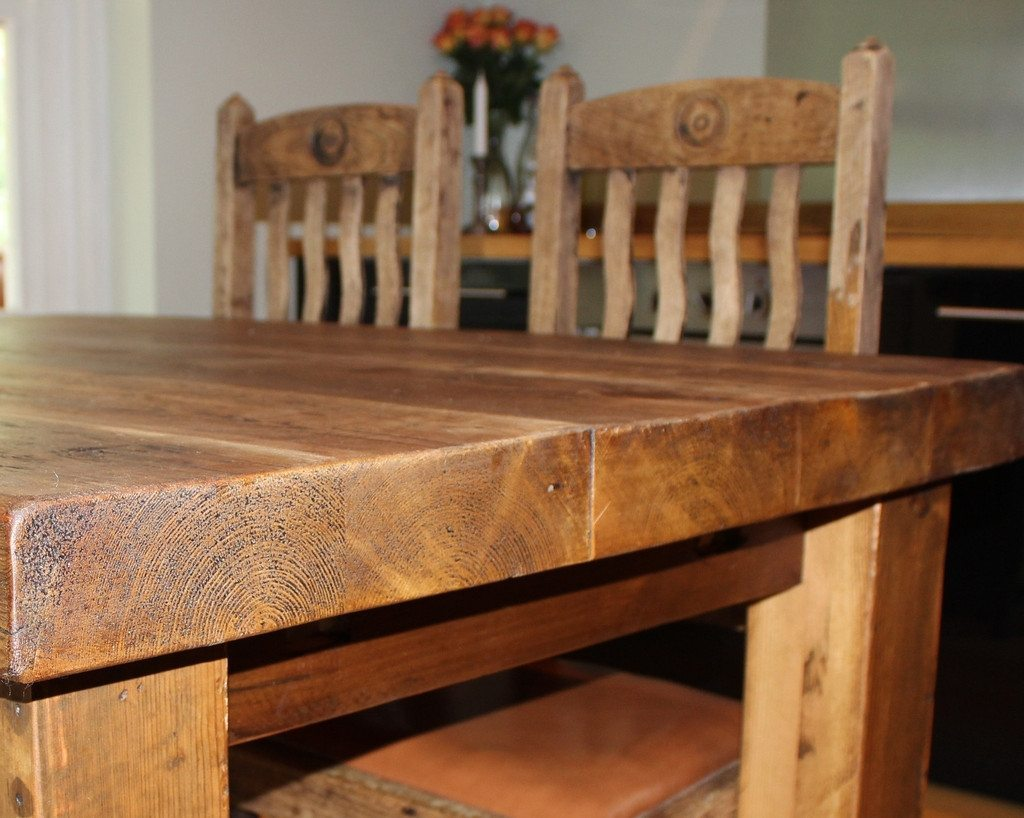 Picture of: reclaimed wood dining tables designs