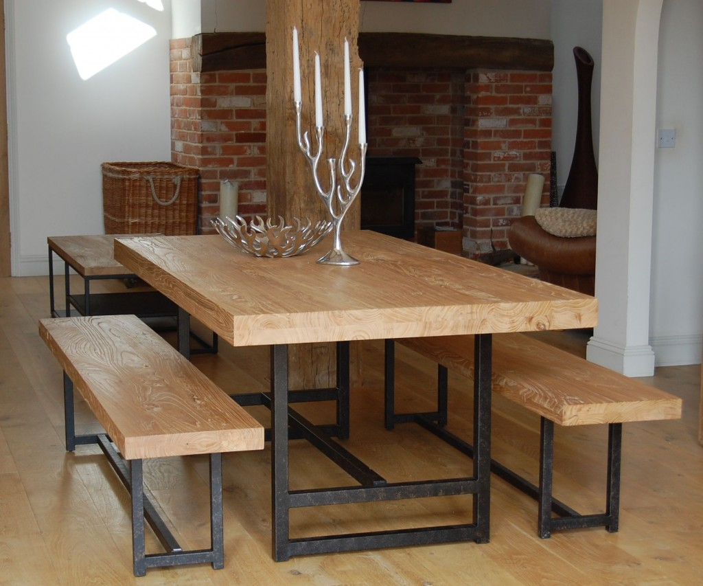 Picture of: reclaimed wood dining tables furniture