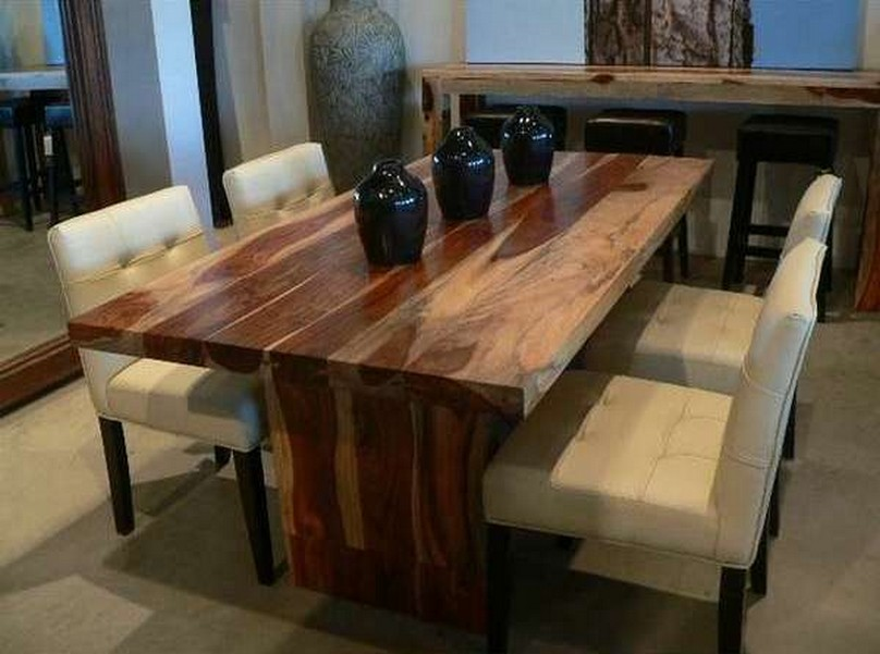Picture of: reclaimed wood dining tables sets