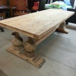 Reclaimed Wood Dining Tables Size