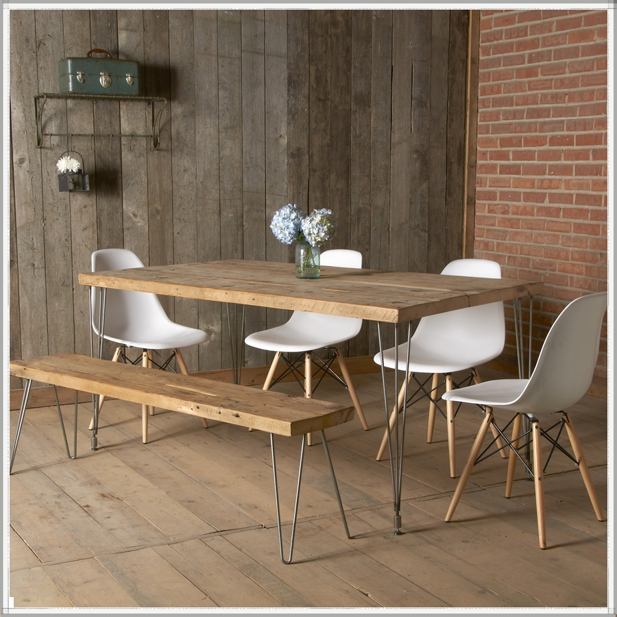 Picture of: reclaimed wood dining tables and chairs