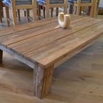 Reclaimed Wood End Table Medium Size