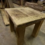 Reclaimed Wood End Table Planning Made