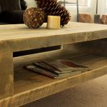 Reclaimed Wood End Table With Storage