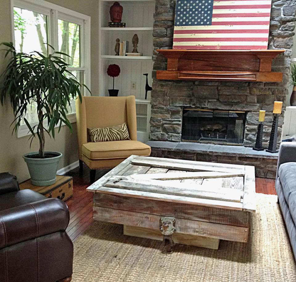 Picture of: Reclaimed Wood End Tables Old Wood