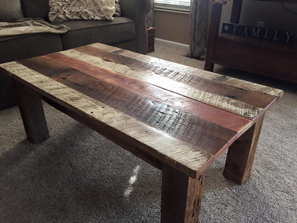 Picture of: Reclaimed Wood End Tables Simple