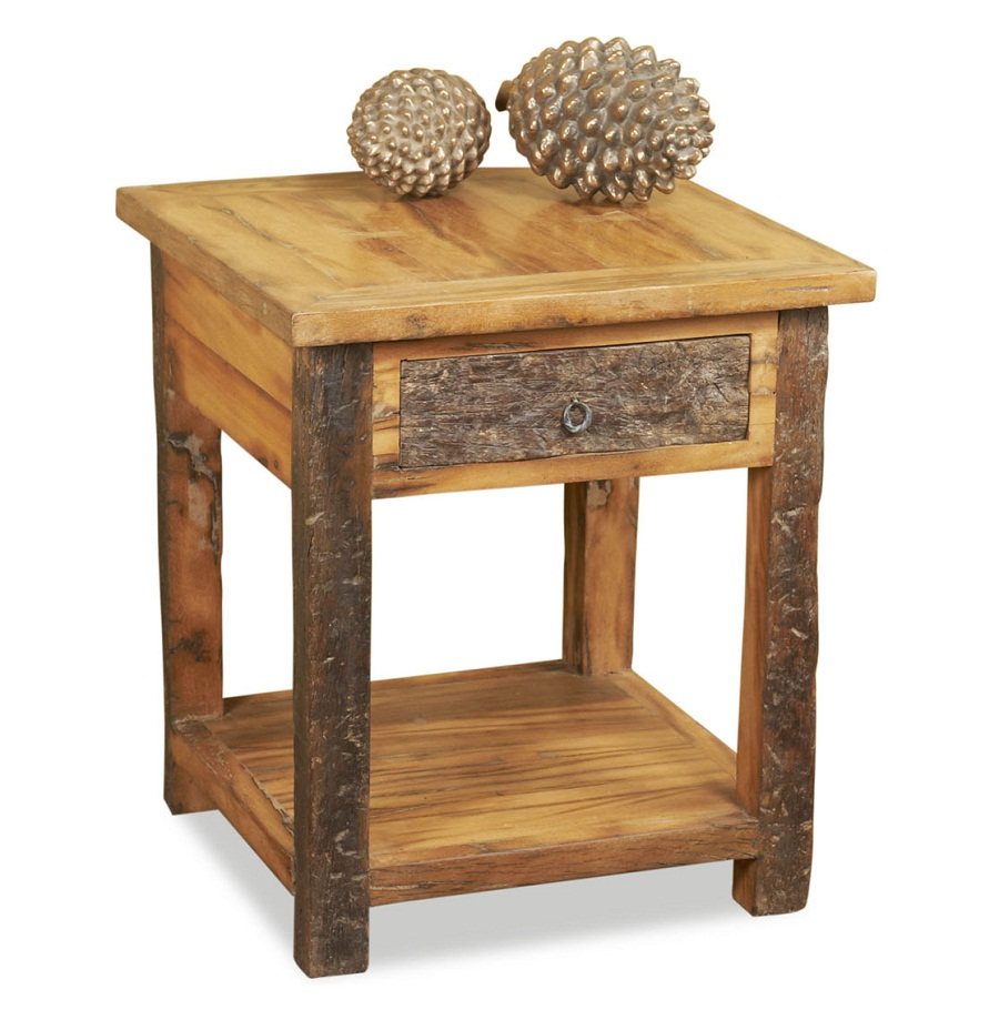 Picture of: Reclaimed Wood Side Table Style