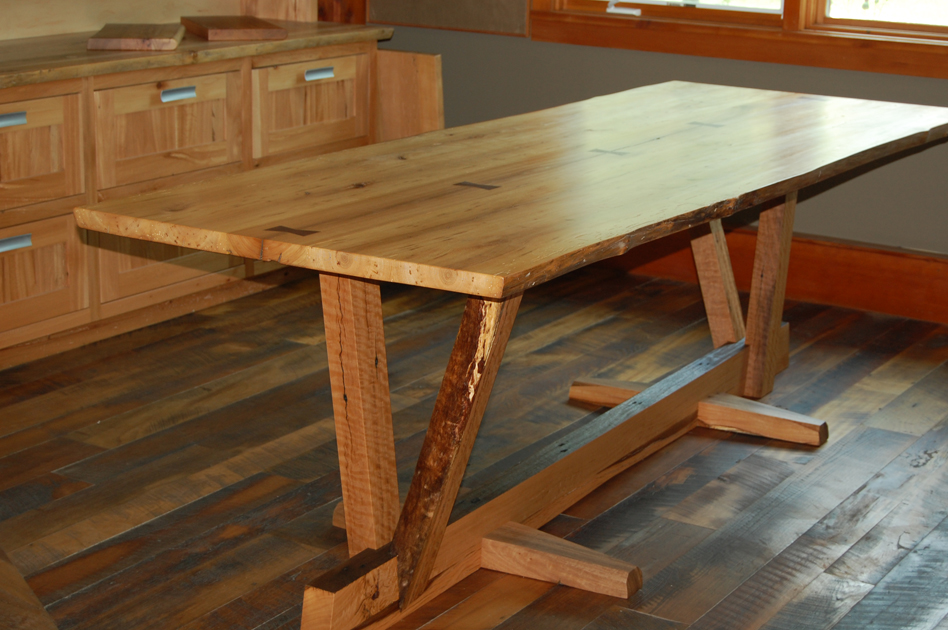 Reclaimed Wood Table Design
