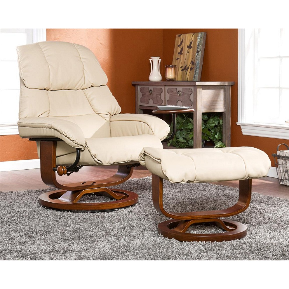 Image of: Recliner and Ottoman Shapes