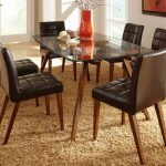 Rectangle Dining Table Glass