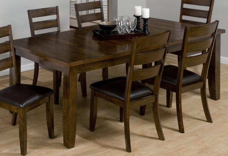 Image of: Rectangle Dining Table and Chairs