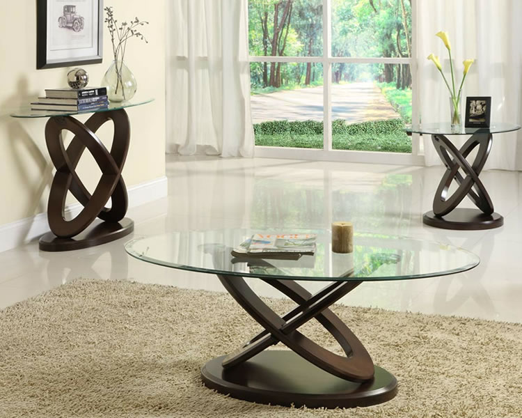 Rectangular Glass Coffee Table Design